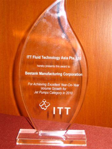 Bestank wins ITT Goulds Pump Award – Bestank