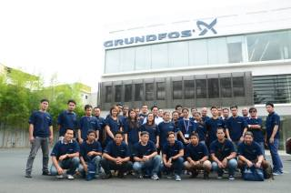 Bestank trains at Grundfos Philippines