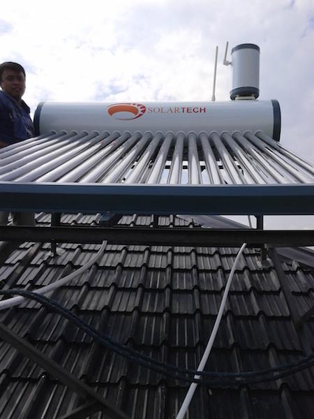 Solartech Solar Water Heater –Residence