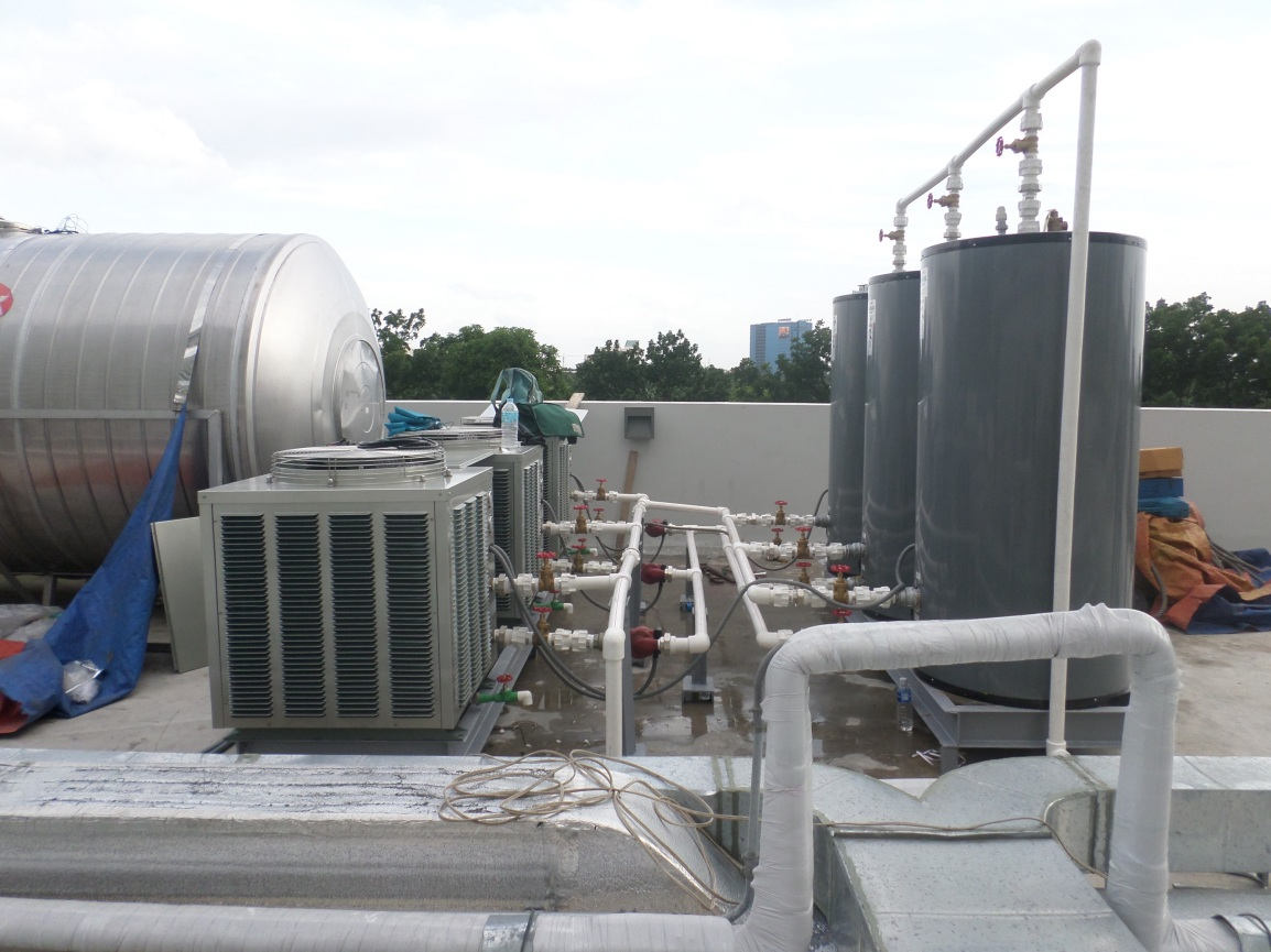 Heat Pump – Jin Jiang Inn, Makati City