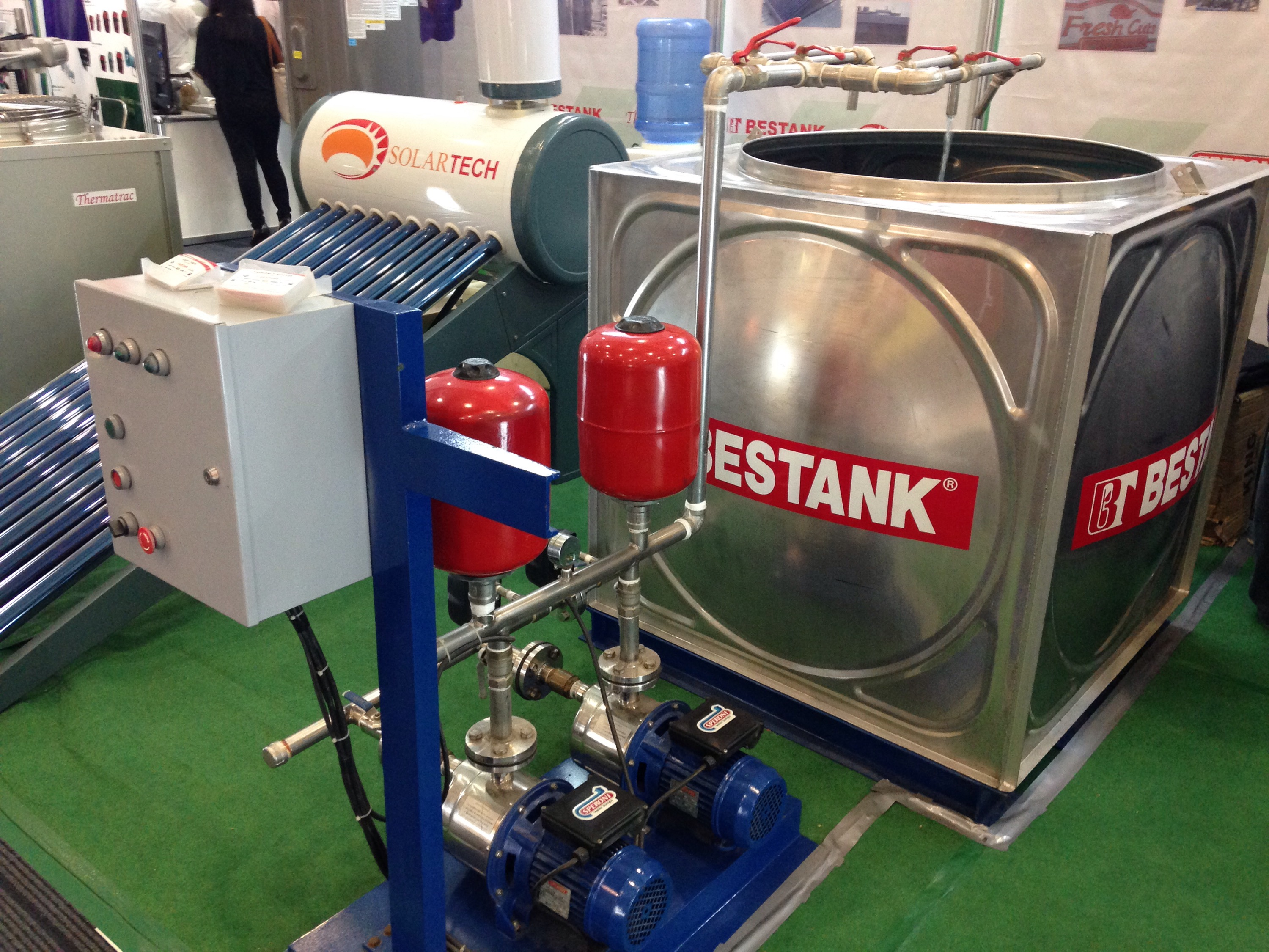 Green Philippines Trade Show Bestank