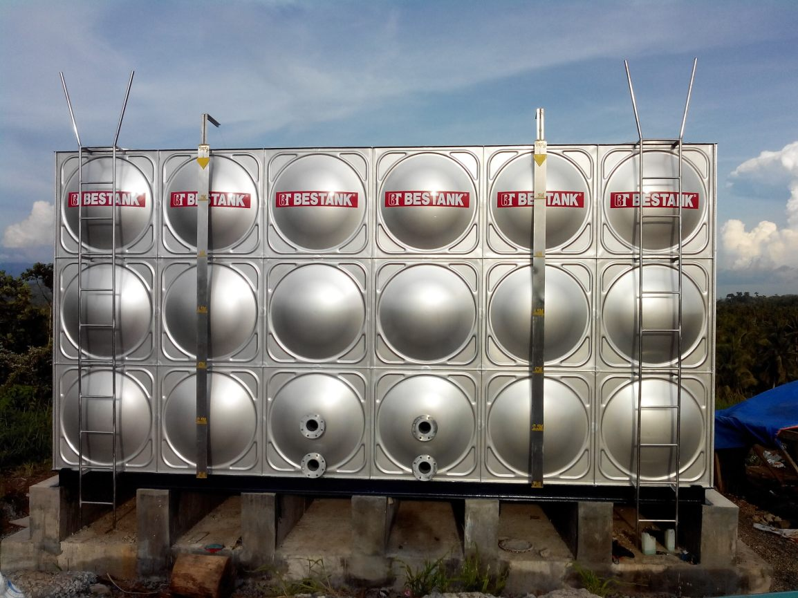 SS Modular Tank With Partition- Lamsan Holdings Corporation, Sultan Kudarat