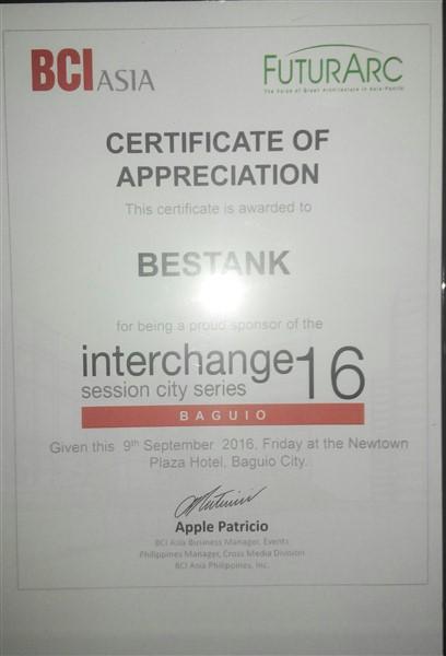 Bestank @ BCI Interchange –Baguio