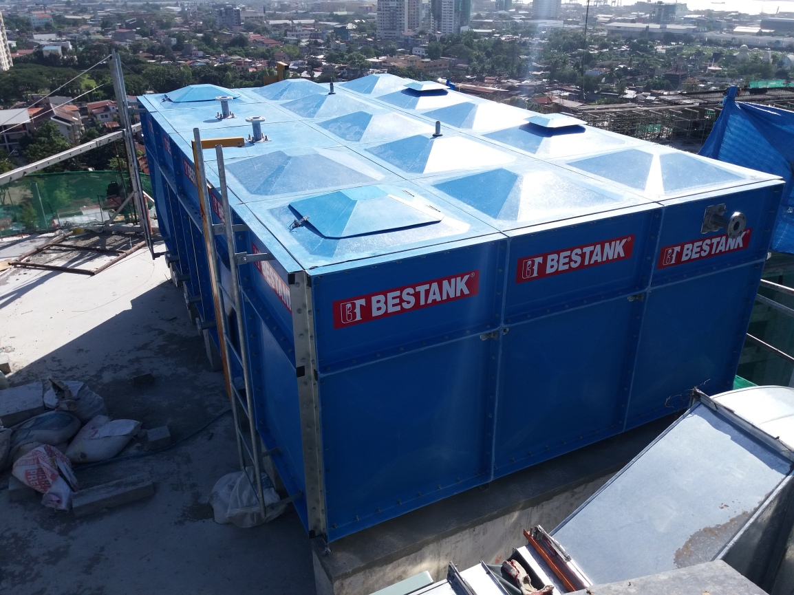 FRP Modular Tank – Build Comm Center