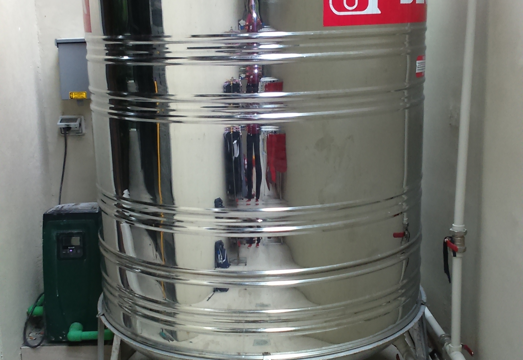 Esybox Stainless Steel Storage Tank Residential