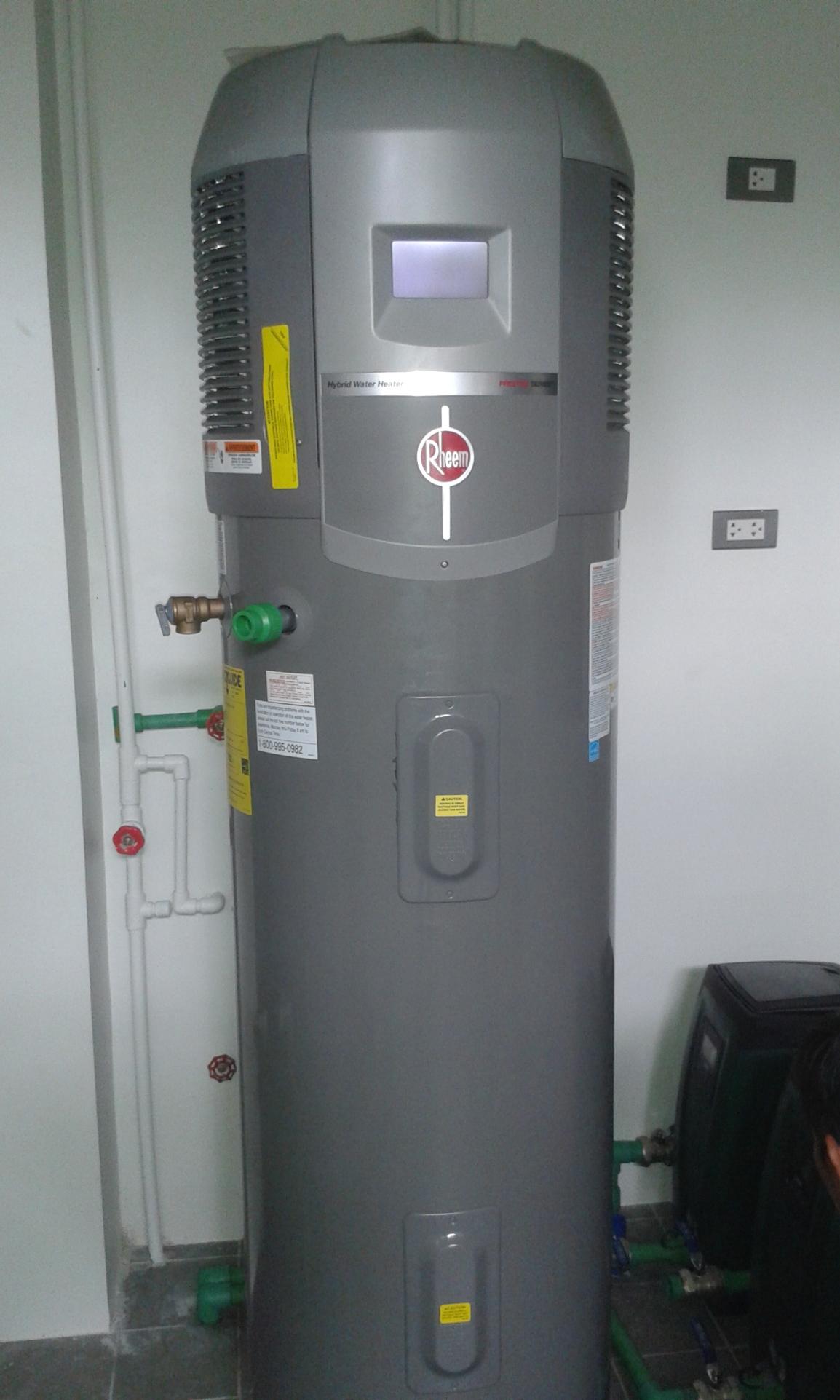 Rheem Hybrid Heat Pump and Dab E.sybox Compact Pressure System Installation – Angeles City,Pampanga