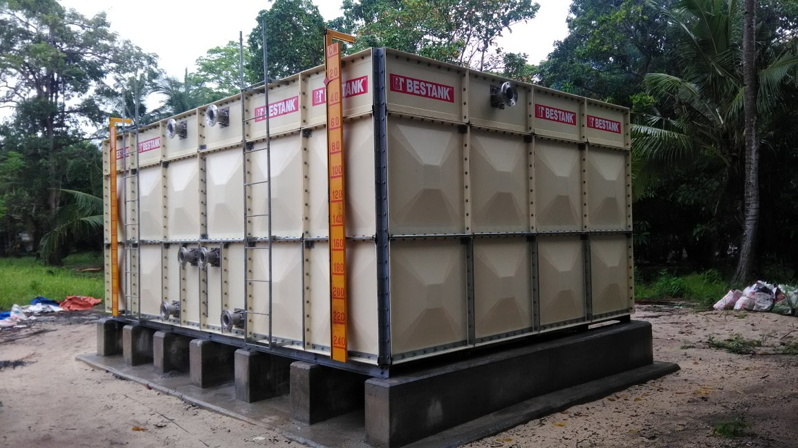 FRP Modular Tank – The Legend Palawan – IslaPandan